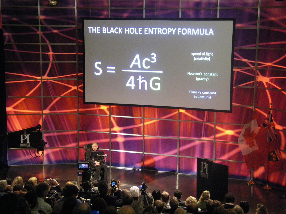 Image result for The black hole entropy formula
