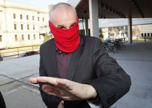 Graham James arrives at court for sentencing in Winnipeg on March 20, 2012. James, a former junior hockey coach convicted of sexually abusing players, is facing more charges.THE CANADIAN PRESS/John Woods