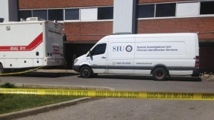 The SIU investigates after police fatally shot man at Guelph General Hospital. May 20, 2015.