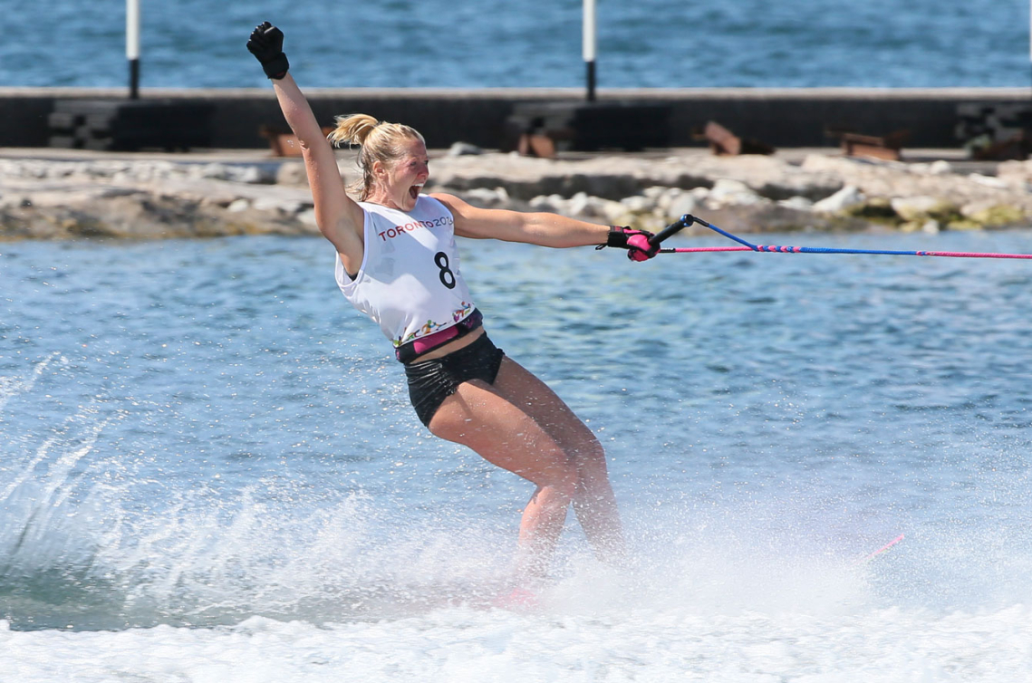Cambridge\'s Whitney McClintock golden again and sets Canadian record ...