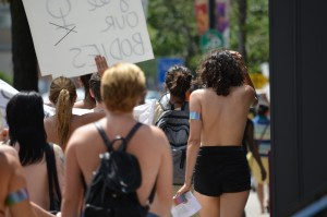 """""""Bare with Us: Top Freedom Rally at Waterloo Town Square, Aug 1, 2015"""