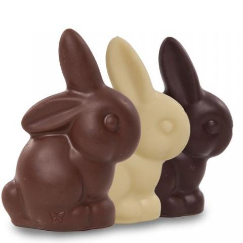 Rabbit Rescue Promotes Chocolate And Stuffed Animals For Easter