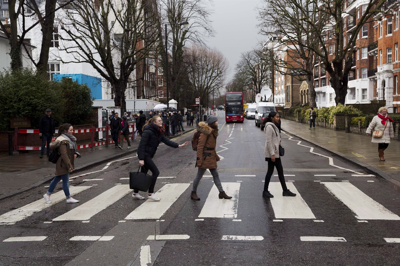 Come TogetherBeatles Fans Still Flock To Zebra Crossing For Abbey Road Photo