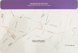 Morriston Bypass Map
