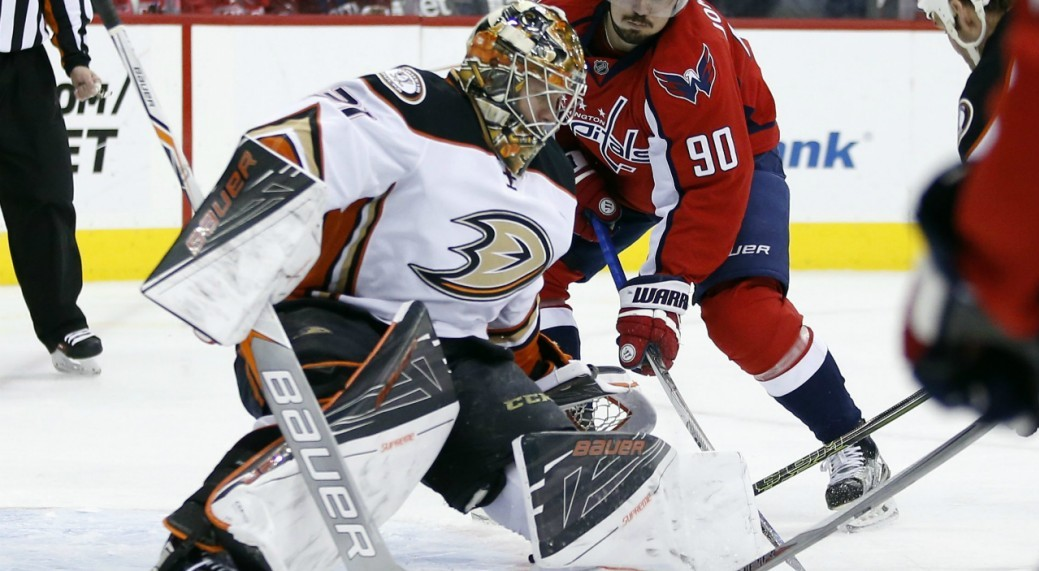 Leafs Acquire Goalie Andersen In Trade With Ducks
