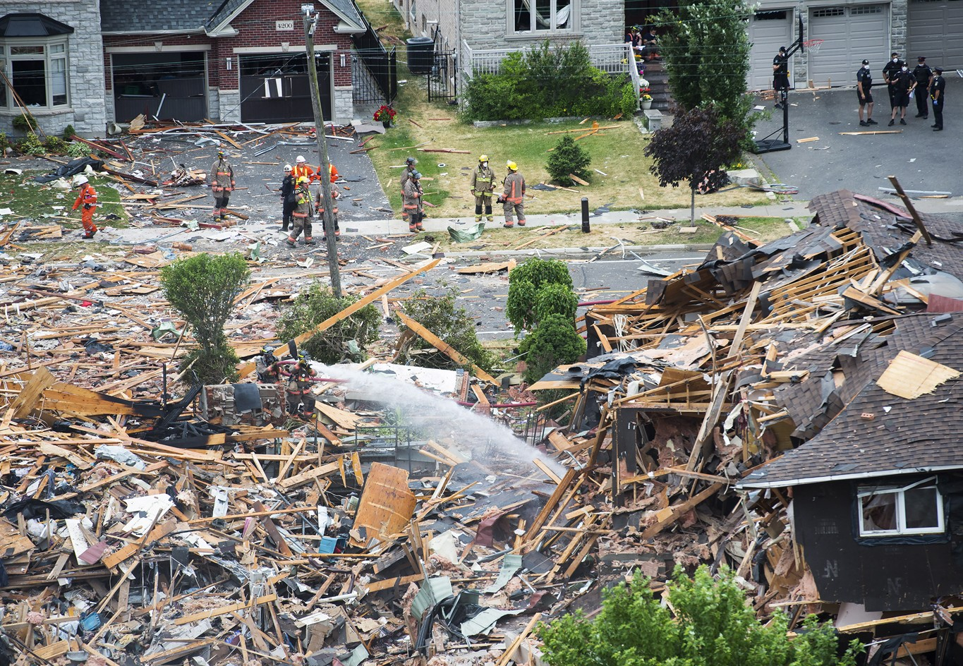 Six months later, Peel officials giving update on Mississauga house explosion