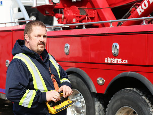 Photo of John Allen, one of the star's of Heavy Rescue: 401. (Discovery Channel)