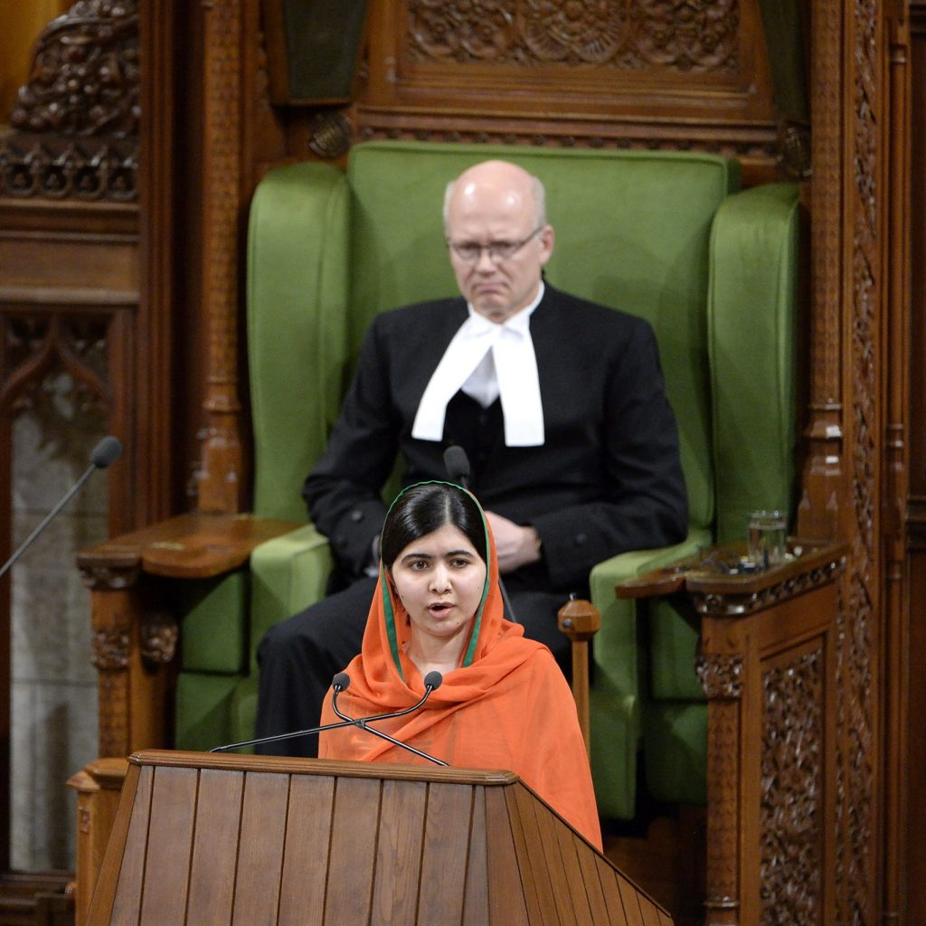 Best acceptance speech ever? When Malala Yousufzai made Justin Trudeau blush