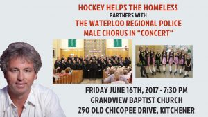 Waterloo Regional Police Male Chorus Concert In Support Of Hockey Helps The Homeless @ Grandview Baptist Church | Kitchener | Ontario | Canada