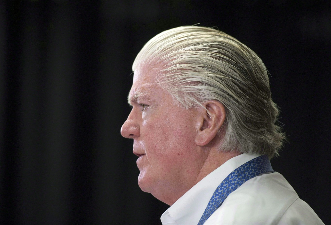 Flames president Brian Burke says Calgary behind the times on arenas, stadiums