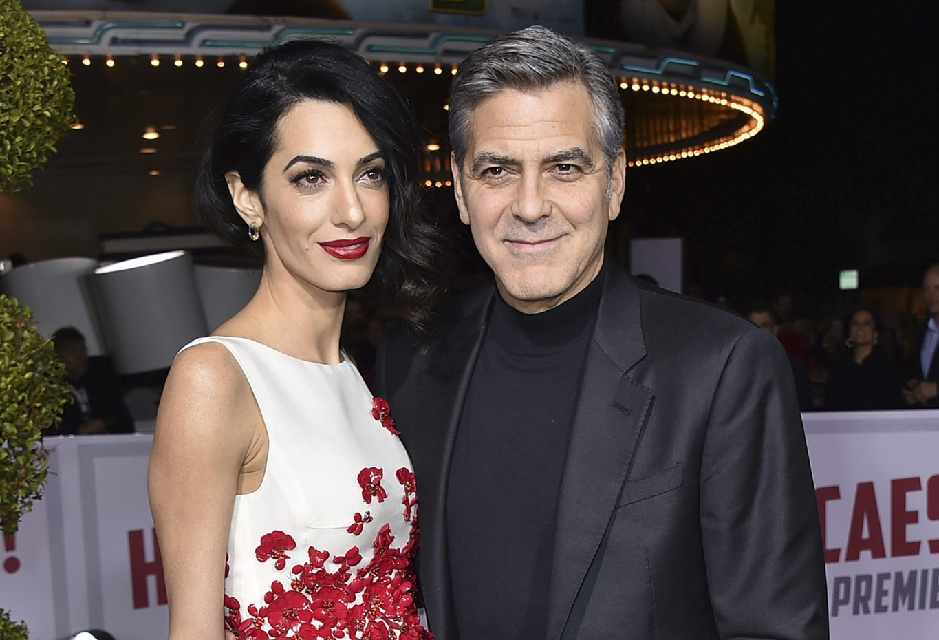 George & Amal Clooney Welcome Twins Ella and Alexander