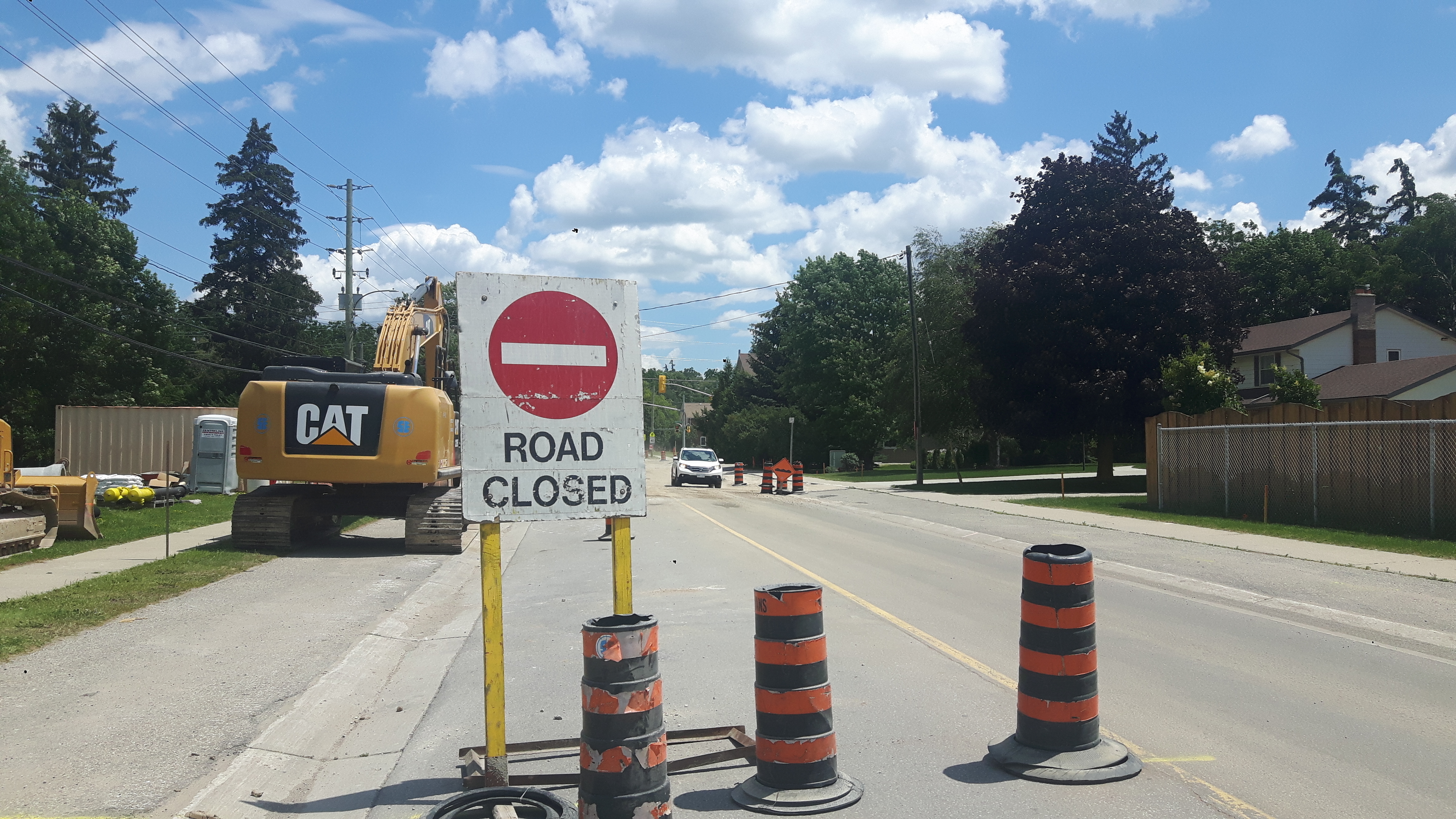 Franklin Blvd  set to close at 401 for rest of 2018 on May 22nd