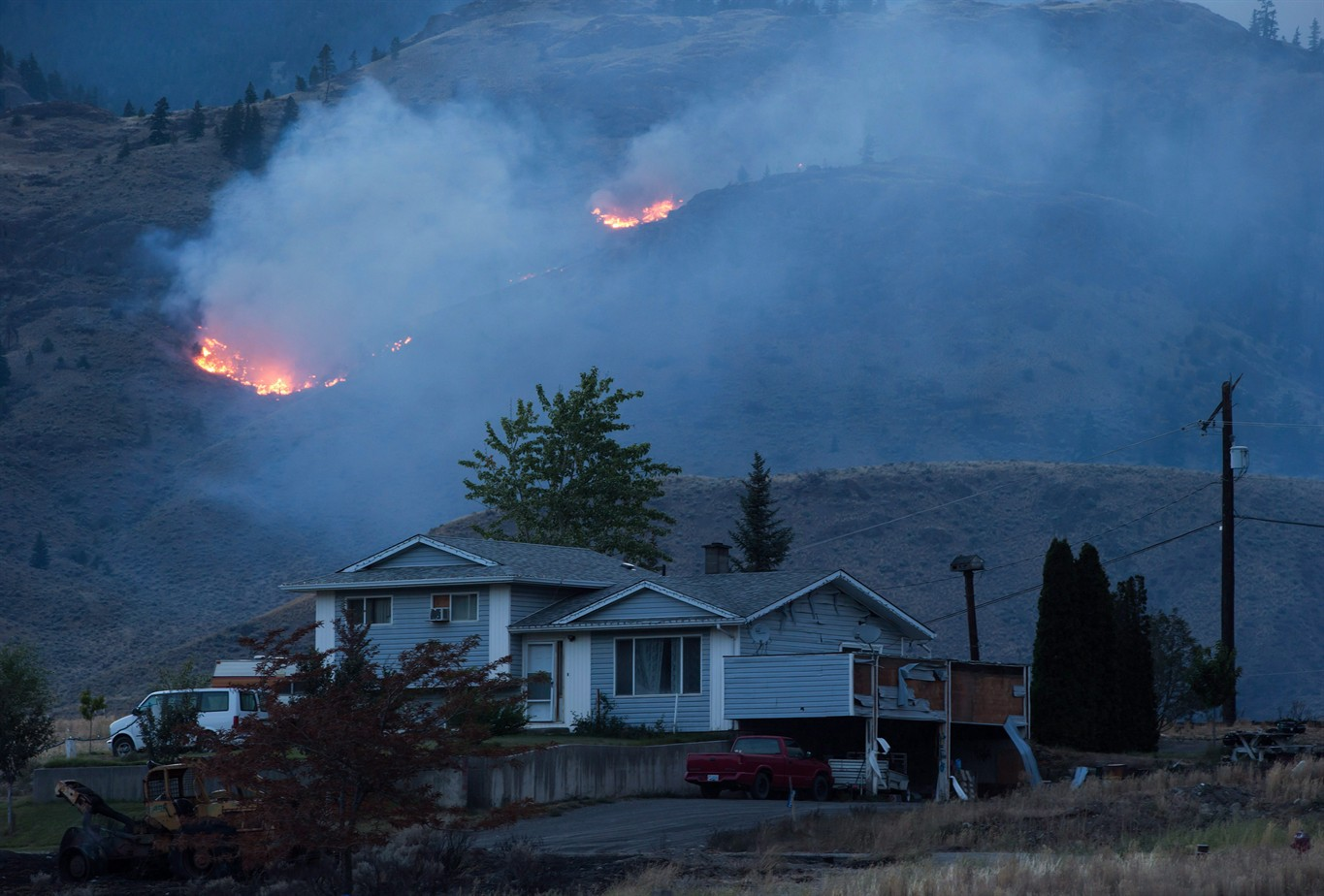 looters taking advantage of b c fires are typical at natural