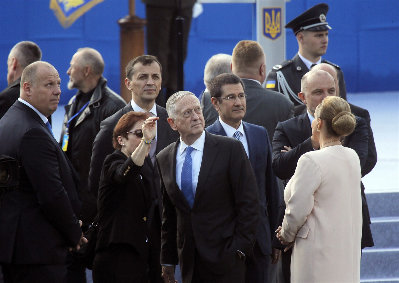 Ukraine holds military parade to mark Independence Day