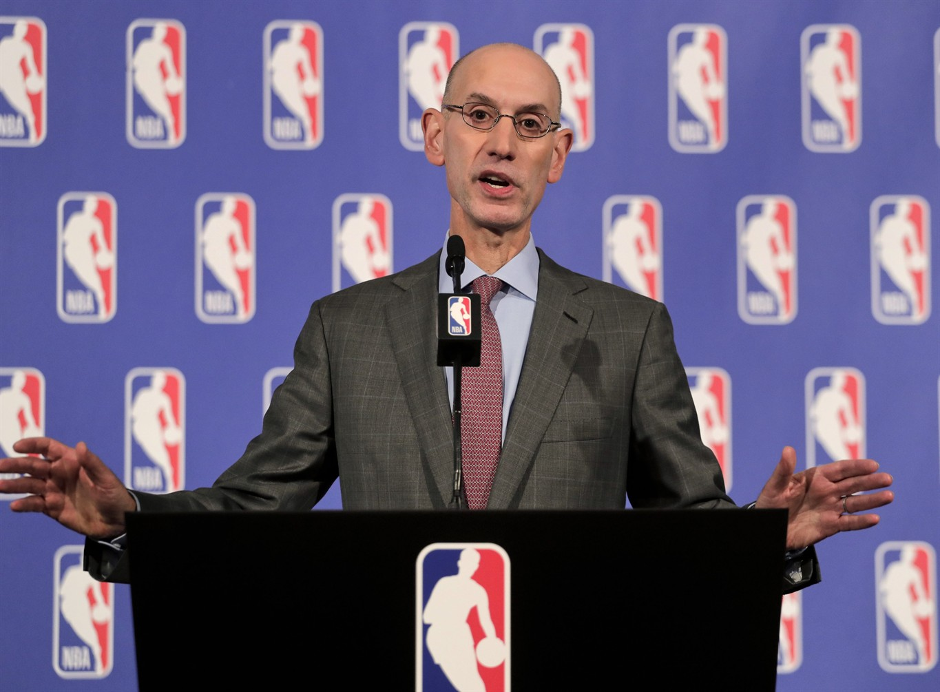 NBA Commissioner Adam Silver Expects Players To Stand For Anthem