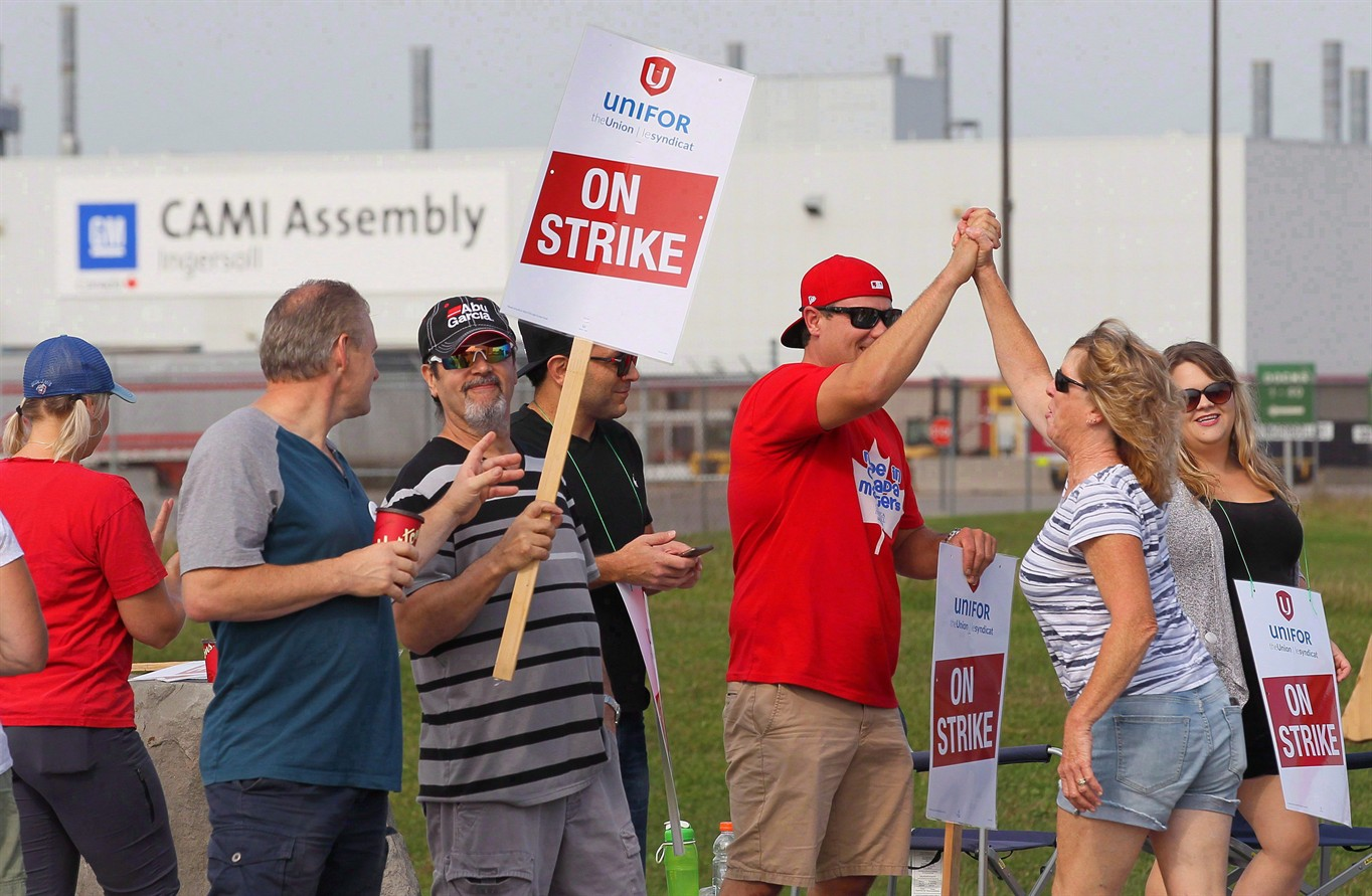 CAMI strike ends as workers approve new contract