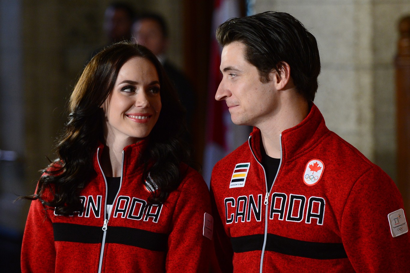 Virtue and Moir named flag bearers for Team Canada at PyeongChang games