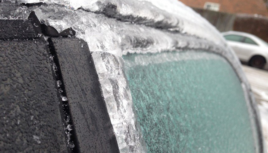 Ice Storm Warning will be in effect through Sunday
