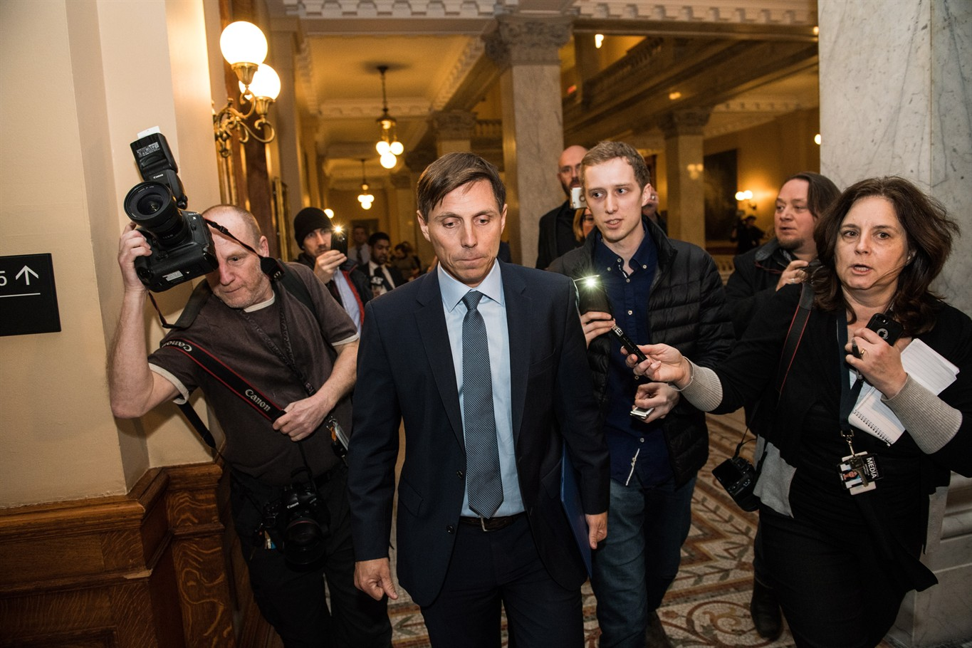 Two women come forward with graphic sexual misconduct allegations against Patrick Brown