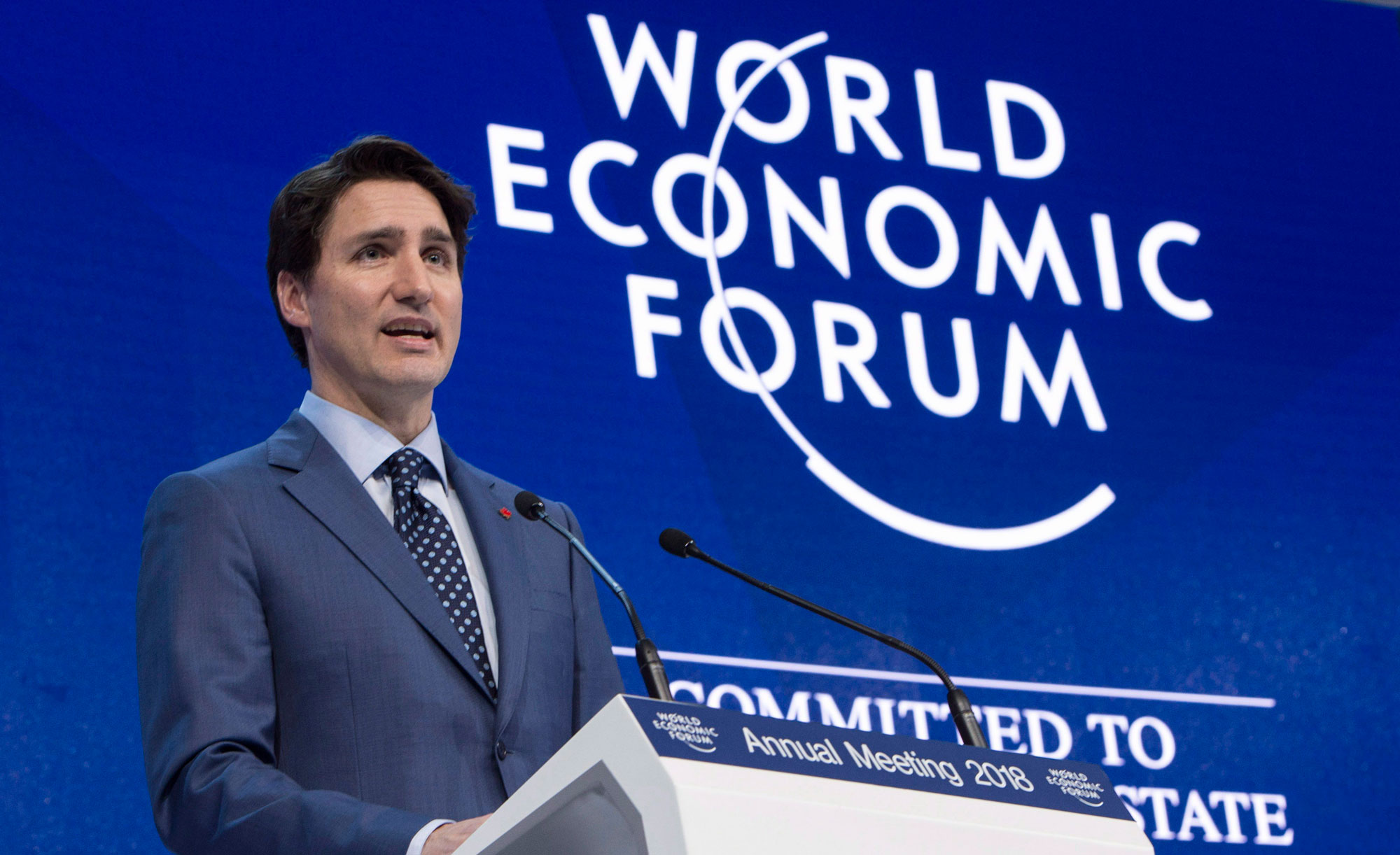 Trudeau and Netanyahu hold unannounced meeting at World Economic Forum