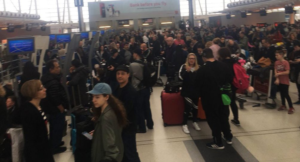 Computer issues with Air Canada causing problems at some Canadian airports