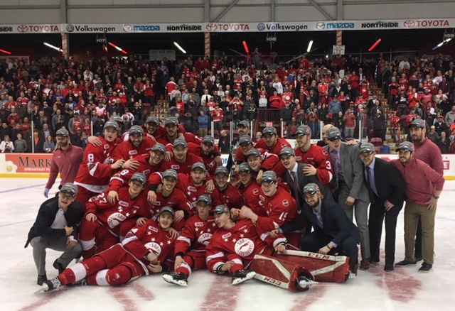 OHL: Greyhounds beat Rangers in OT of Game 7
