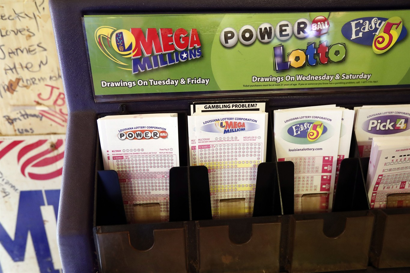 Winning tickets from Powerball drawing sold in Oklahoma
