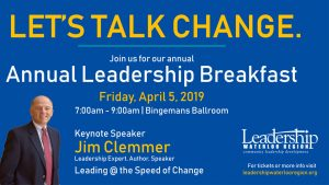 Leadership Breakfast – Leadership Waterloo Region @ Bingemans