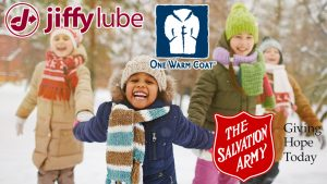 One Warm Coat @ Jiffy Lube
