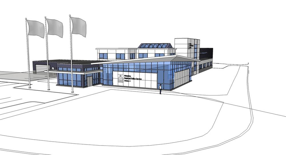 Look of new waterloo police station 570 news for 97 the terrace ocean grove