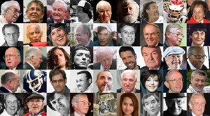 A mosaic of some of the notable Canadians who died in 2012. THE CANADIAN PRESS/files