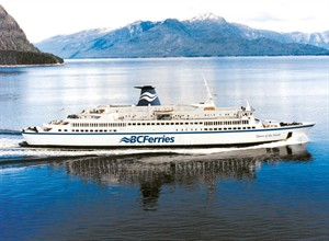 An undated handout photo of the Queen of the North ferry. THE CANADIAN PRESS/HO-B.C. Ferries