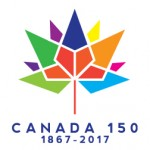The Government of Canada logo to mark the 150th anniversary of Confederation.