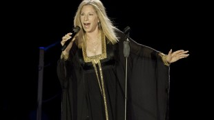 FILE - In this June 20, 2013 file photo, singer Barbra Streisand performs during her concert in Tel Aviv, Israel. Streisand is set to publish her long-discussed and long-promised memoir. The legendary singer-actress-filmmaker has a deal with Viking for her life story, the publisher announced Wednesday, May 20, 2015. The book is currently untitled and scheduled for 2017. (AP Photo/Dan Balilty, File)