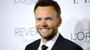 FILE - In this Monday, Oct. 20, 2014, file photo, actor and talk show host Joel McHale arrives at ELLE's 21st annual Women In Hollywood Awards at the Four Seasons Hotel, in Los Angeles. McHale is signed up to be host of the annual ESPY Awards show in July 2015. ESPN said Friday, May 22, 2015, the show will take place in the Nokia Theatre in Los Angeles. (Photo by Jordan Strauss/Invision/AP, File)