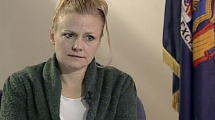 "FILE - Pamela Smart is seen in this file image taken from video courtesy of WMUR television of Manchester, N.H. at the corrections facility in Bedford Hills, N.Y. Joyce Maynard, whose book ""To Die For"" was inspired by the Pamela Smart case is asking Gov. Maggie Hassan that Smart, sentenced to life for being an accomplice to the murder of her husband, be considered for parole. Smart is serving life without parole after being convicted of plotting the 1990 murder of Gregory Smart. She denied planning her husband's murder. (WMUR Television via AP, File)"
