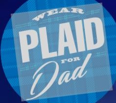 photos wear plaid for dad to raise awareness amp funds to