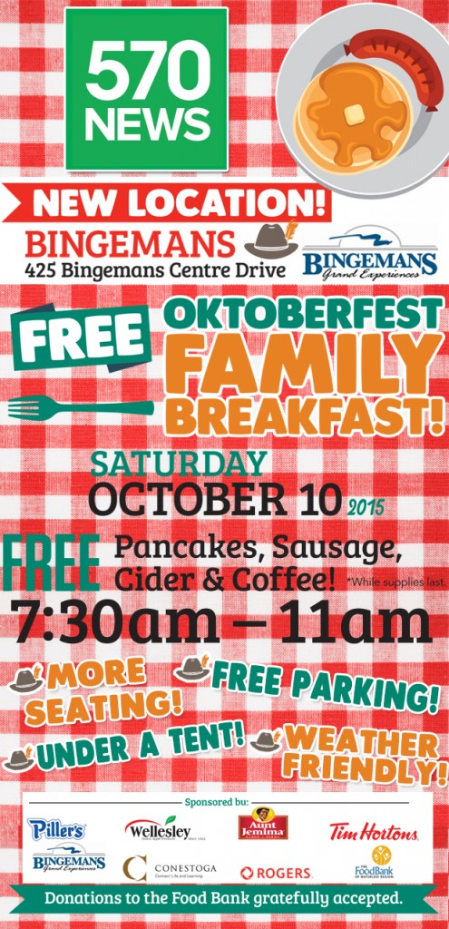 Join Us For The Free Annual Oktoberfest Family Breakfast