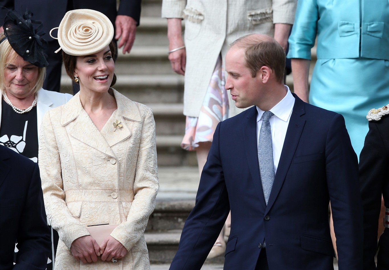 Britain's Prince William and Kate visit Canada