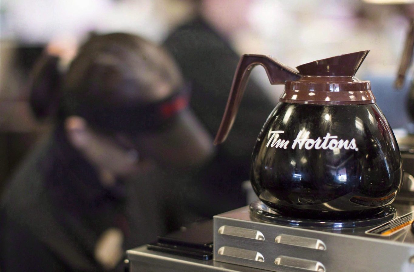 Tim Hortons goes to Great Britain