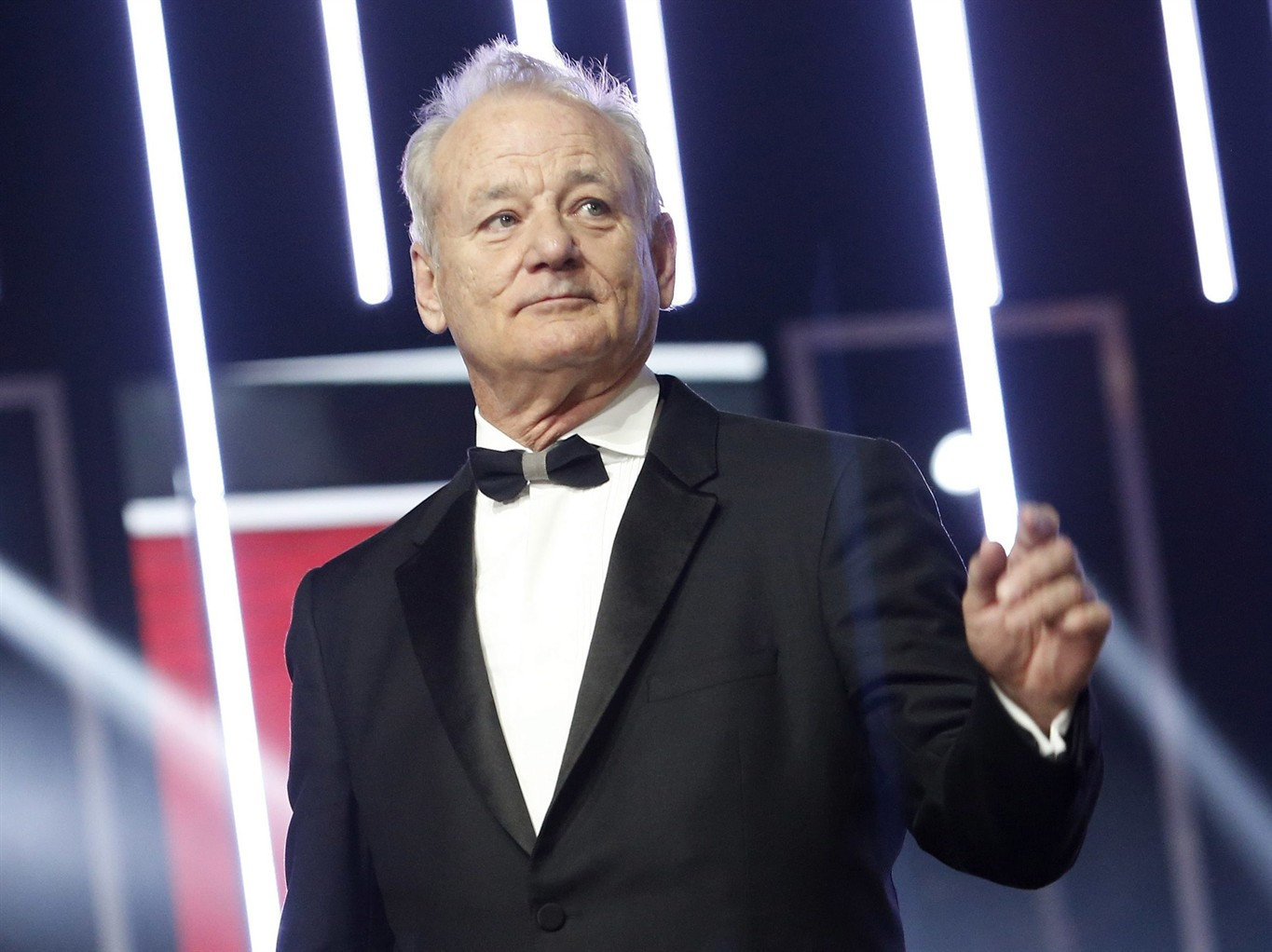 Bill Murray honoured as he accepts Mark Twain prize for humour
