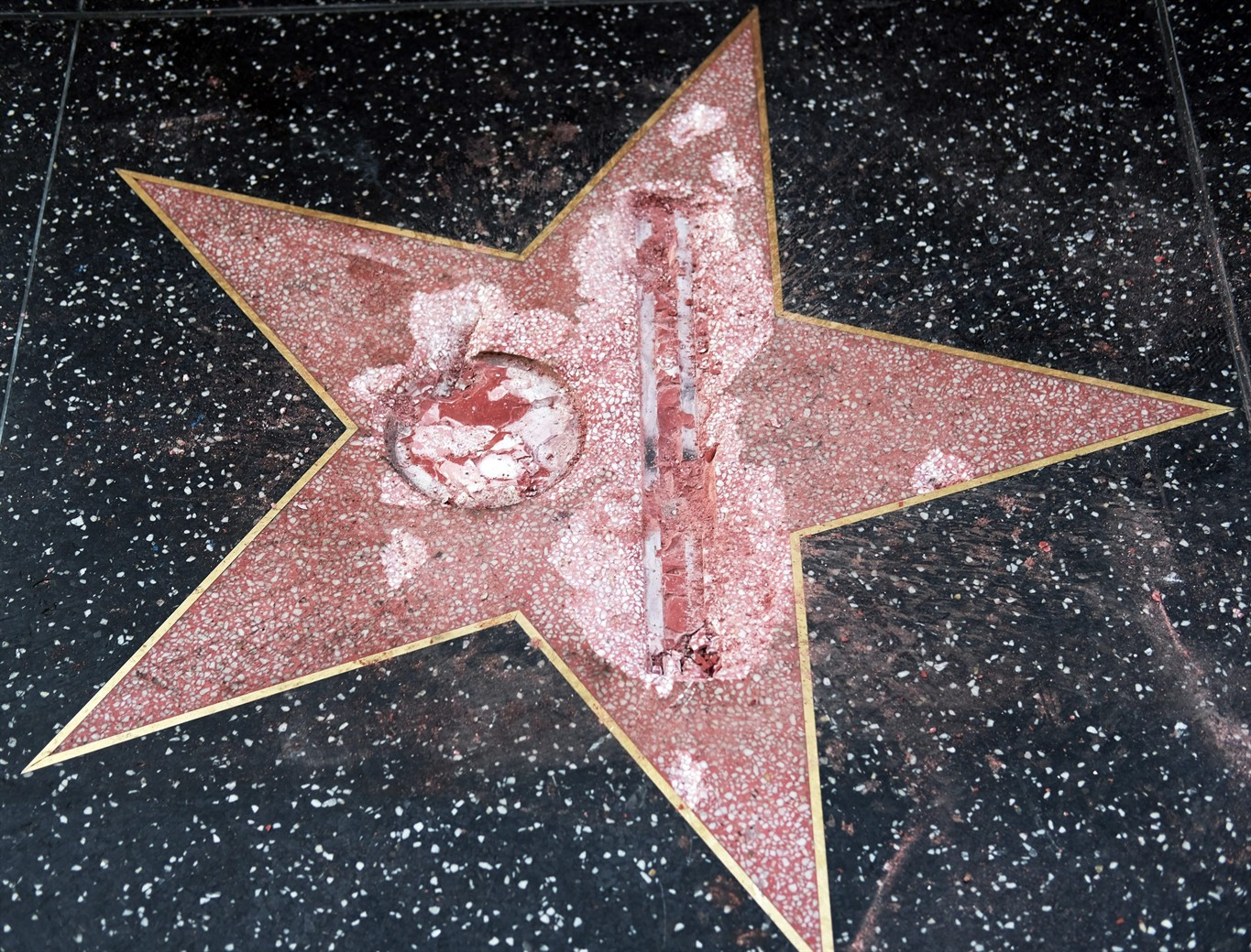 Woman sought in dust-up at Donald Trump's Hollywood star
