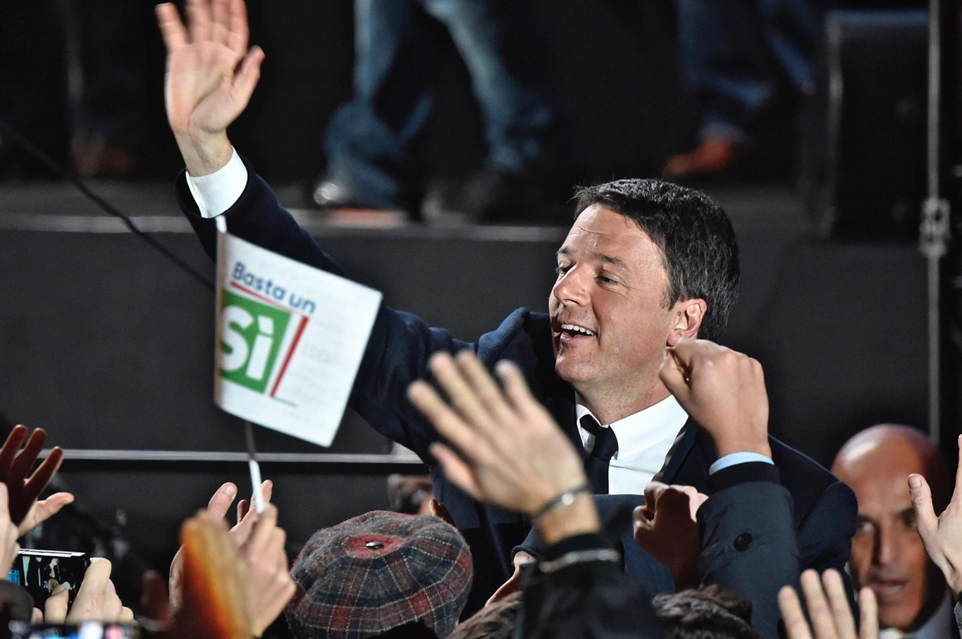 Renzi Heading for Defeat in Italy Referendum, Exit Polls Say