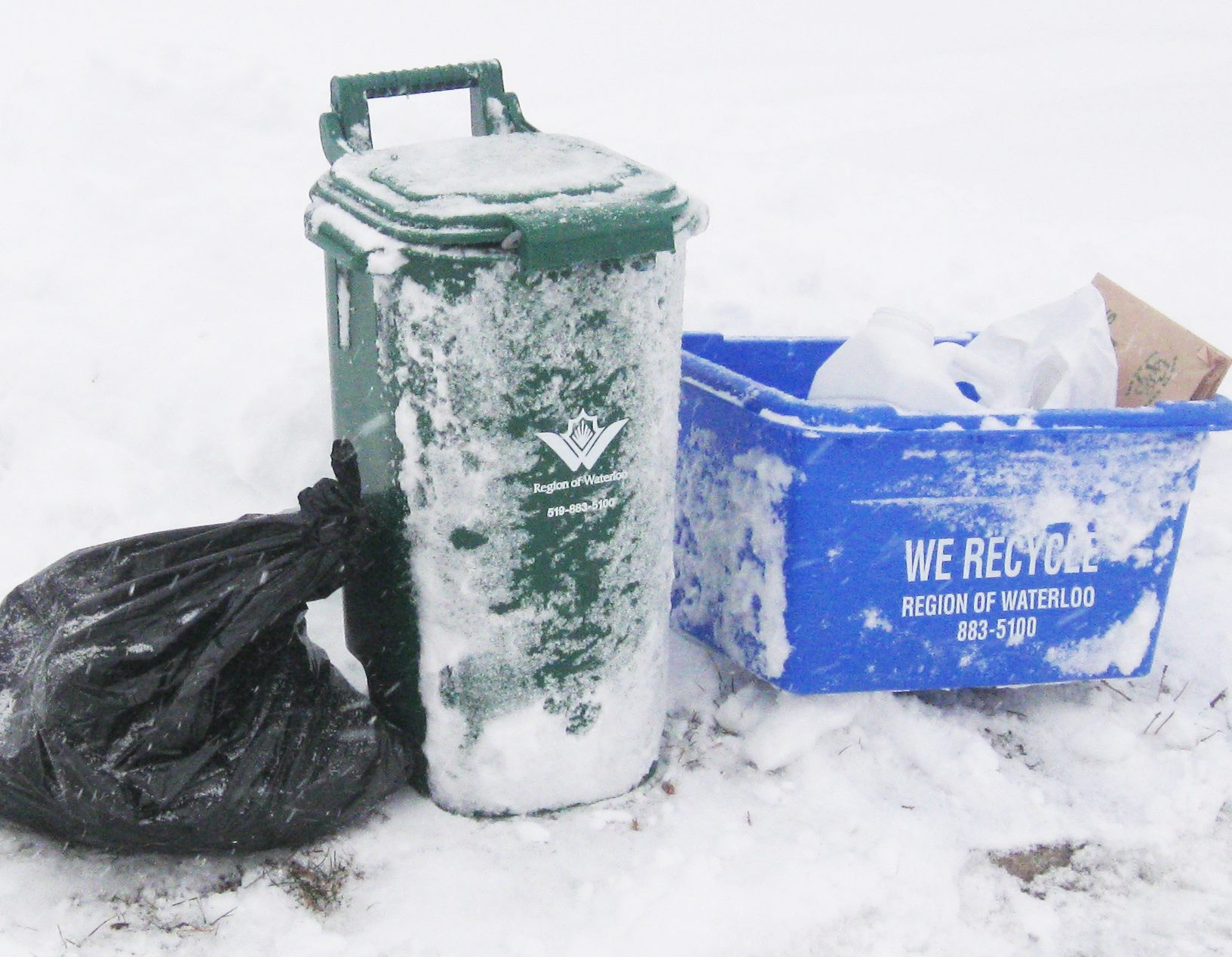 some waste collection delays in waterloo region 570 news
