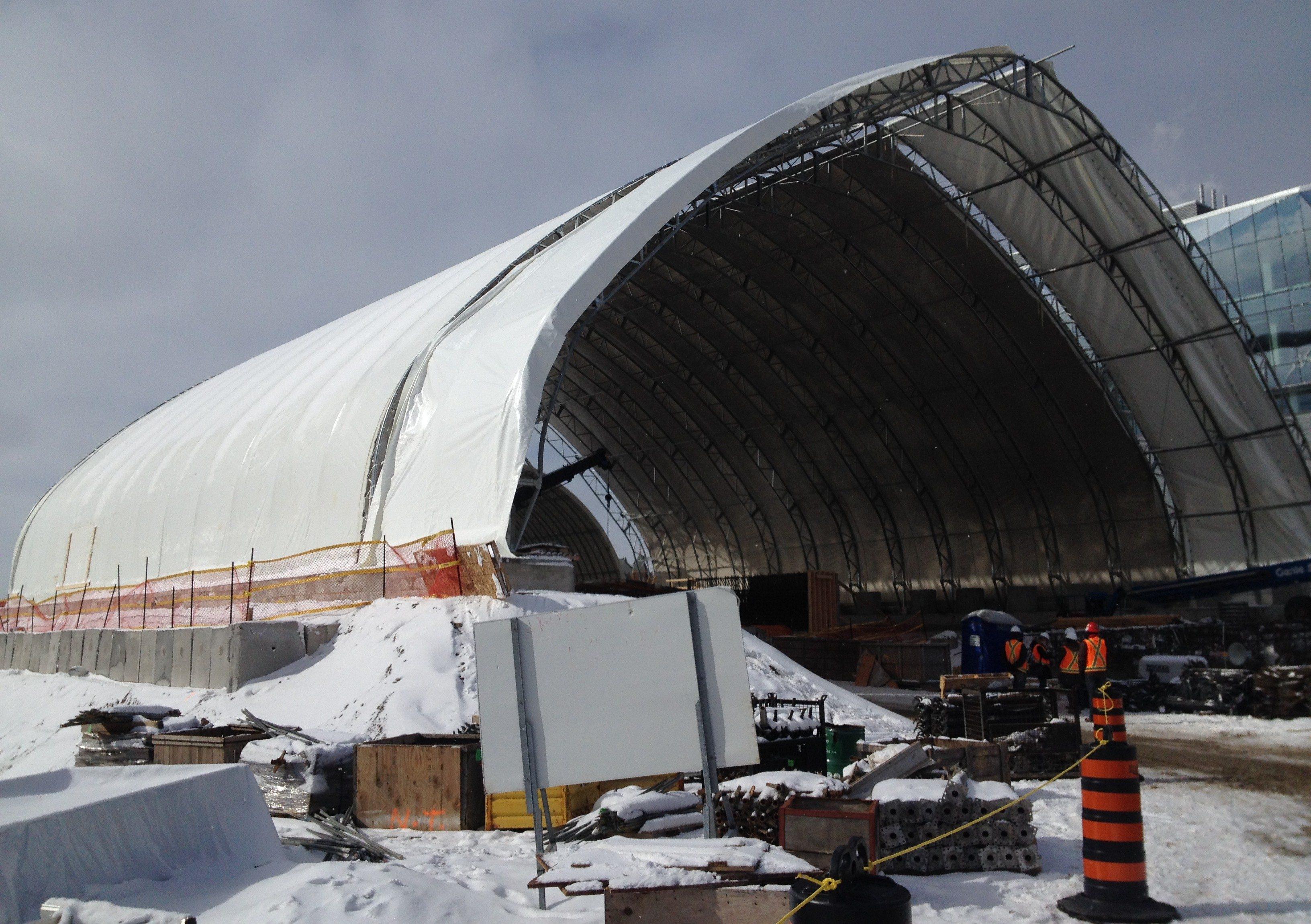Region Says Cost Of Lrt Dome May Never Be Known 570 News