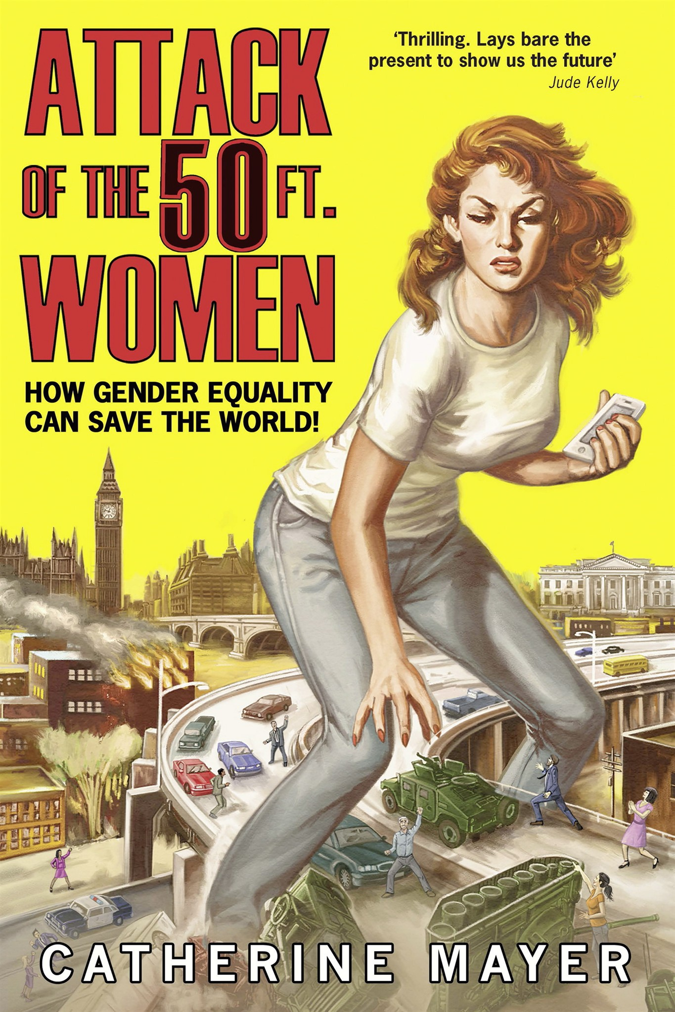 Catherine Mayer Offers Gender Equality Road Map In Attack Of The - Us gender change map