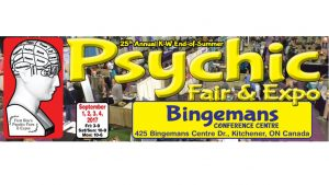 First Star's 25th Annual KW End-of-Summer Psychic Fair & Expo @ Bingemans Conference Center | Kitchener | Ontario | Canada