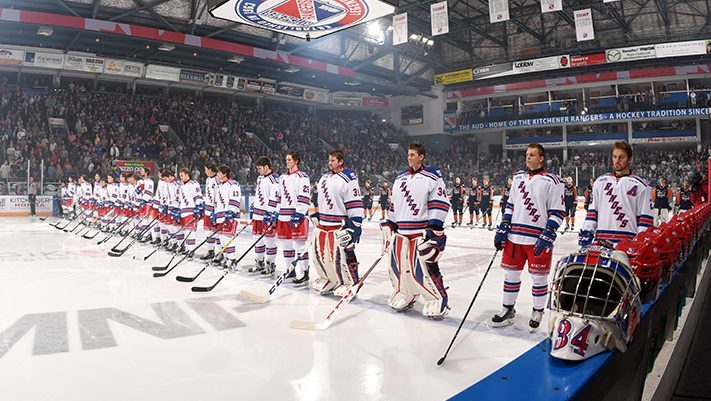Kitchener Rangers hit the ice Friday, but are one player down - 570 NEWS